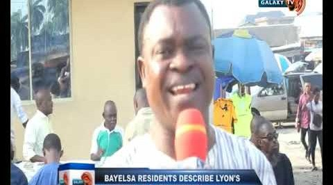 Bayelsa Residents Describe Lyon's Victory as a Referendum
