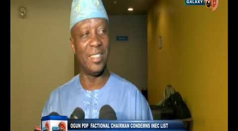 Ogun PDP factional chairman condemns INEC list