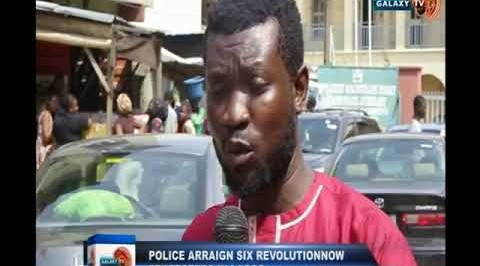 Police Arraign Six Revolution Now Protesters in Lagos