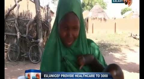 EU, UNICEF Provide Healthcare to 3000 in Adamawa Community