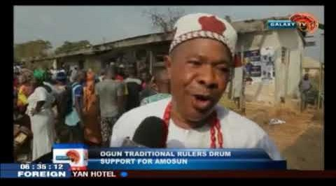 Ogun Traditional Rulers Drum Support For Amosun