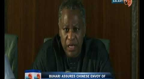 Buhari Assures Chinese Envoy of Honouring Agreements