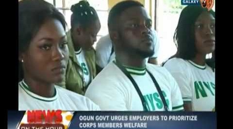 Prioritize Corps Members Welfare, Ogun govt urges Employers