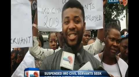 Suspended Imo Civil Servants Seek Ihedioha's Intervention