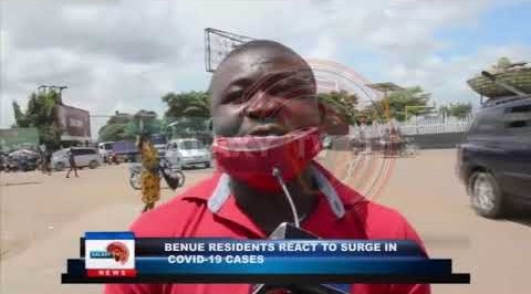 Benue Residents react to sudden increase in COVID-19 Cases by seriously Adopting the use of Facemask