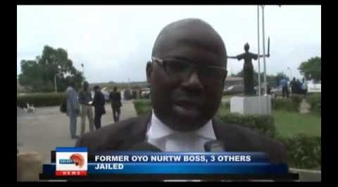 Former Oyo NURTW boss, 3 others jailed