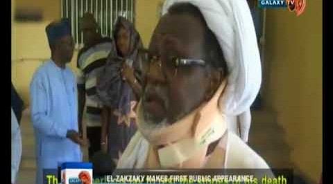 El-Zakzaky makes first public appearance in over two years