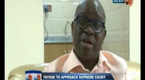 Galaxynews @10: Fayose to approach supreme court over new tenure