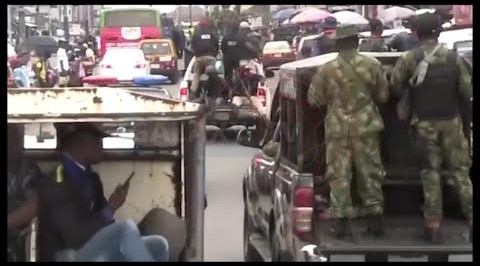 Joint Security Operatives Commence show of Force in Benin ahead of the Saturday Elections.
