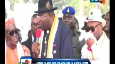 UDOM FLAGS OFF RE - ELECTION IN AKWA IBOM