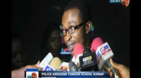 Police arraigns Turkish school kidnap suspects
