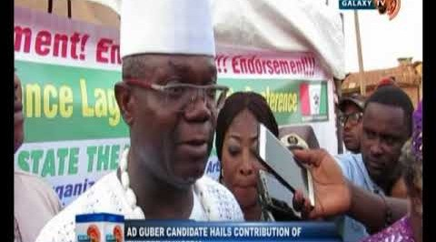 AD guber candidate hails contribution of theatre in Nigeria