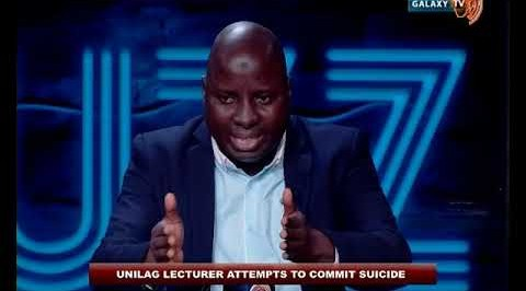 Suspended Unilag Lecturer Exposed in a BBC Documentary Attempts Suicide