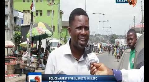 Police Arrest Five Suspects in Ilepo Market Clash