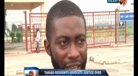 Taraba Residents Advocate Justice over IRT Officers Killing