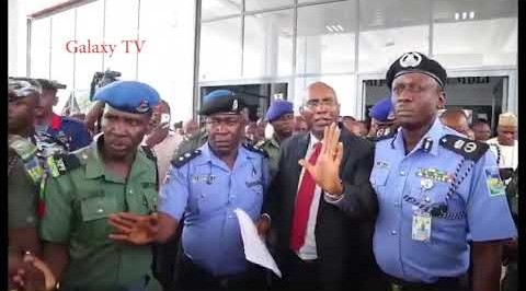 Police clamps down on National Assembly, arrest Omo-Agege