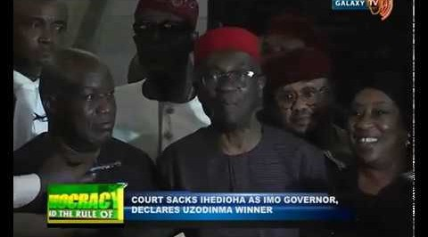 Supreme Court Declares Hope Uzodinma Imo State Governor