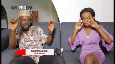 ADEKUNLE GOLD ON CELEBRITY ZONE