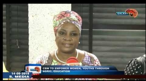 CBW to empower women, youths through Agric, education