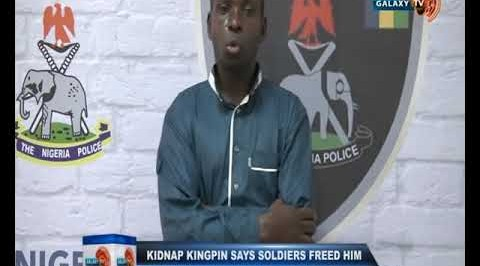 Kidnap Kingpin says Soldiers Freed him