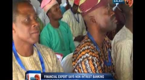 Financial expert says non interest banking is the best for Humanity