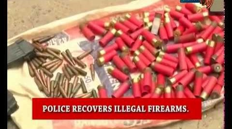 Police recover 3,250 illegal arms in 6 weeks