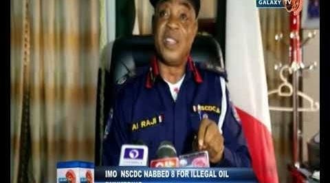 Imo NSCDC Nabbed 8 for Illegal Oil Bunkering
