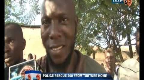 Police Rescue 200 from Torture home in Ibadan