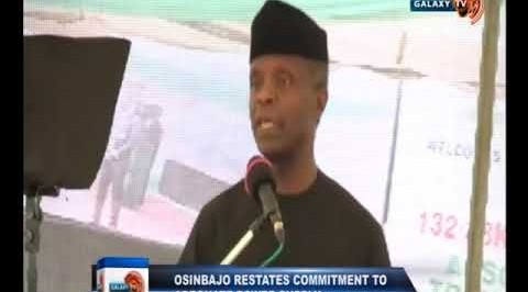 Osibajo Restates Commitment to Adequate Power Supply