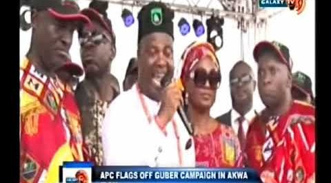 APC FLAGS OFF GUBER CAMPAIGN IN AKWA IBOM