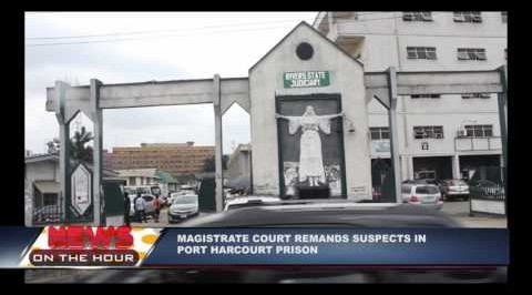 Magistrate court remands suspect in Port Harcourt prison
