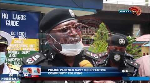 Police Partners Navy on Effective Community Policing
