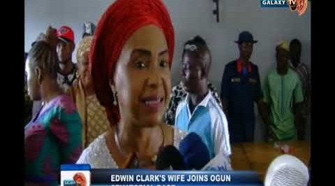 Edwin Clark's wife joins Ogun Senatorial race