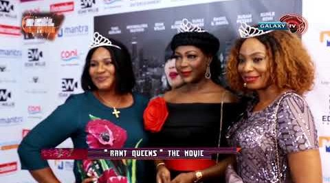 The Premier Of The Movie 'Rant Queens' #MoviePremier #JideKosoko #SusanPeters #Nollywood #RantQueens