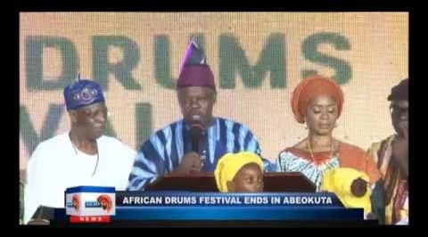 African drums festival ends in Abeokuta