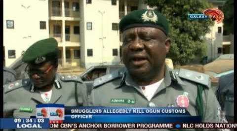 Smugglers Allegedly Kill Ogun Customs Officers