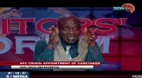 APC Crisis; Appointment of Caretaker