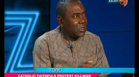 Catholic faithfuls finally react to killings in Nigeria