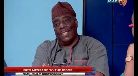 IBB's Message to the Igbos