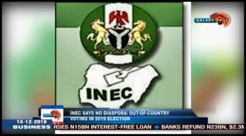 INEC says no diaspora/out-of-country voting in 2019 election