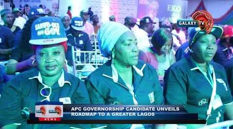 APC GOVERNORSHIP CANDIDATE UNVEILS ROADMAP TO  GREATER LAGOS