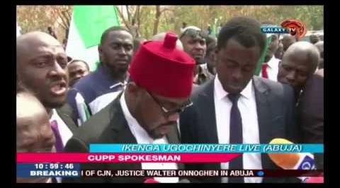 Lawyers Protest Against Onnoghen's Suspension