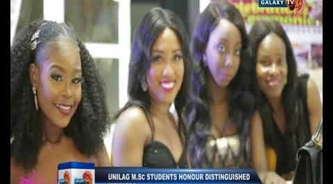 UNILAG M.Sc Students Honour Distinguished Members