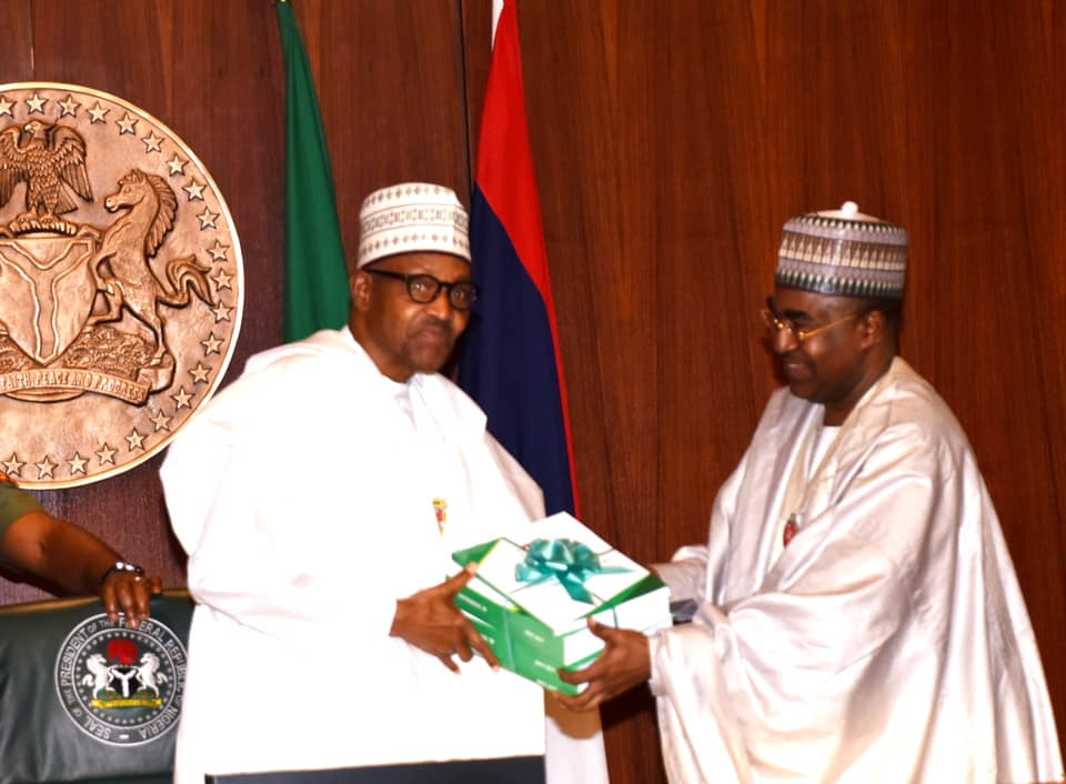 Buhari receives PACEDA report on drug abuse