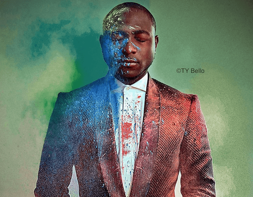 Davido Teams Up With TY Bello for Powerful Photo-Shoot