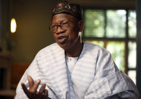 APC has no anointed candidate- Lai Mohammed