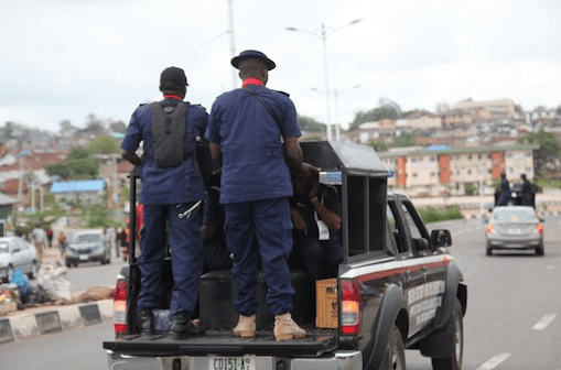 NSCDC parades 4 suspected oil thieves in Bayelsa