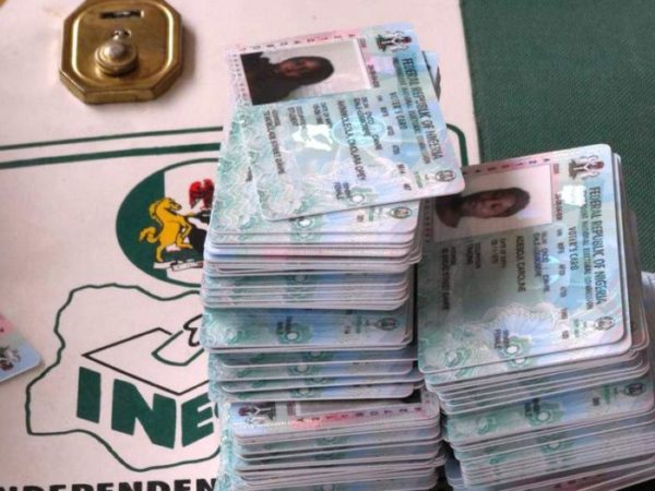 INEC expresses concern over uncollected PVCs
