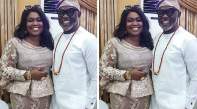 RMD shares rare photo of his wife, Jumobi