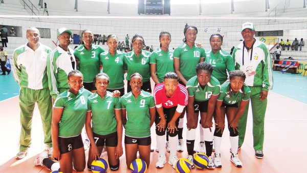 Volleyball team set for Nation's cup